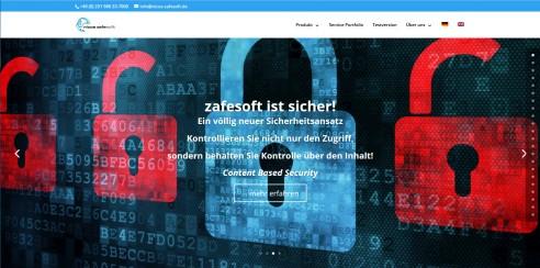 Neue Internetpräsenz der Firma nicos zafesoft GmbH