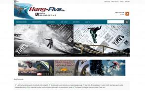 Brand neuer Webshop von JTL für Hang-Five