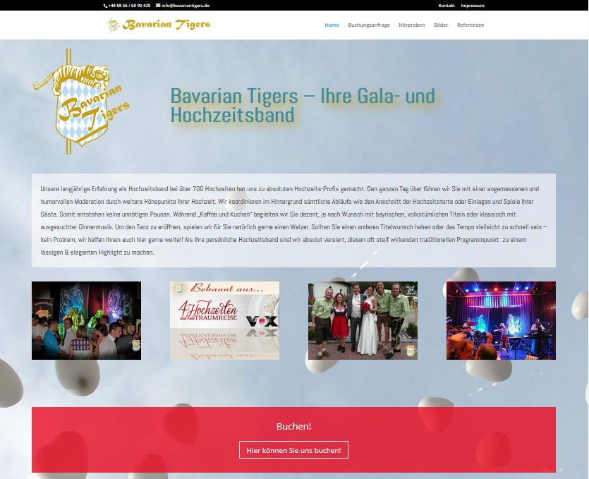 Hochzeitsband-Bavarian-Tigers